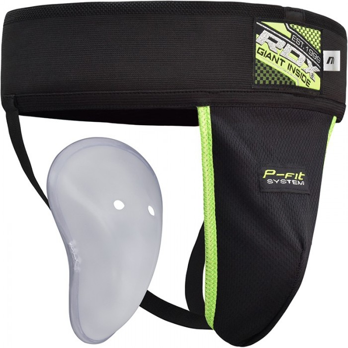Защита паха RDX Groin Guard Black р. XL